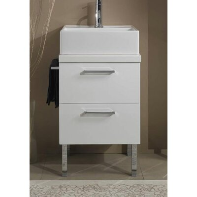 Aurora 19 Single Bathroom Vanity Top Top Finish: Gray Oak