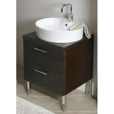 Aurora 23 Bathroom Vanity Base Base Finish: Glossy White