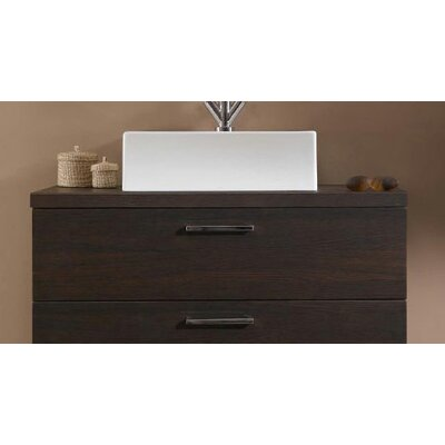 Aurora 30 Single Bathroom Vanity Top Top Finish: Gray Oak