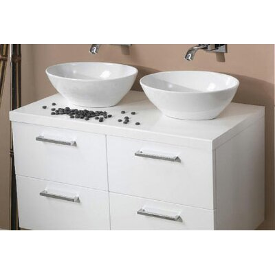 Aurora 37 Double Bathroom Vanity Top