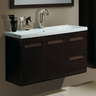 Integral 39 Single Bathroom Vanity Set Base Finish: Natural Oak
