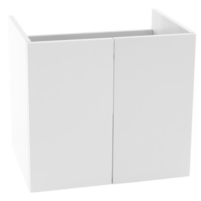 Phinex 23.2 Footed Bathroom Vanity Set Only in Gloss White
