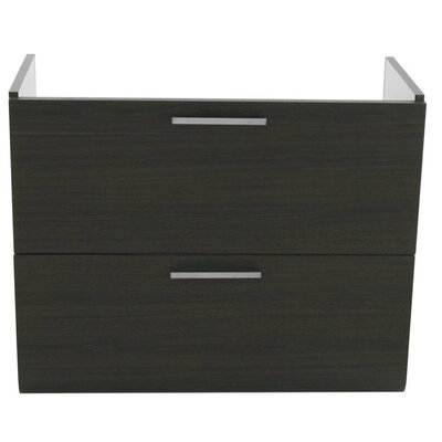 Luna 30 Bathroom Vanity Base Base Finish: Gray Oak