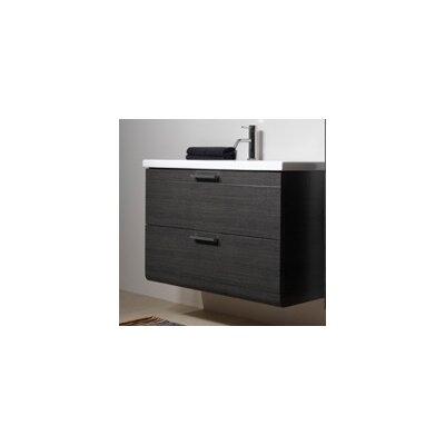 "Luna 30"" Bathroom Vanity Base Base Finish: Teak"