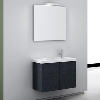 Happy Day 31.1 Wall Mount Bathroom Vanity Set