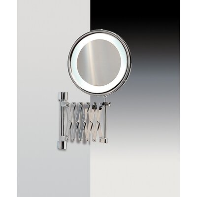 Wall Mounted Magnifying Mirror Finish: Chrome and Gold Windisch 99288CRO-5x