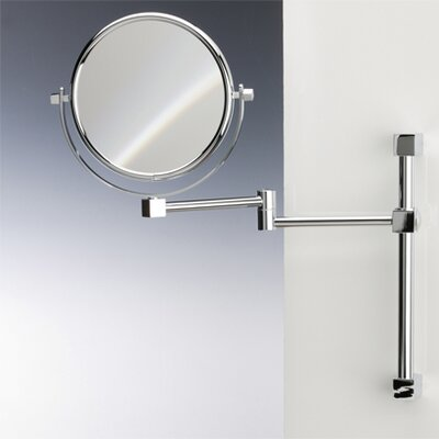 Wall Mounted Double Face Magnifying Mirror Windisch 99140-CRO-5xop