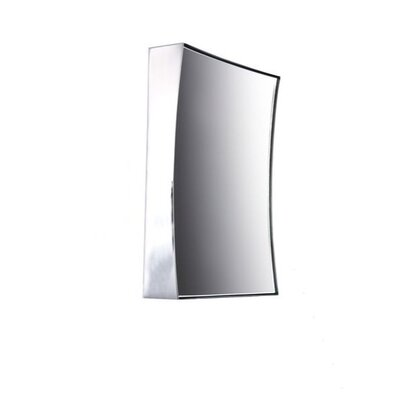 Square Suction Pad Magnification Wall Mirror Finish: Chrome Windisch 99305CR-5x