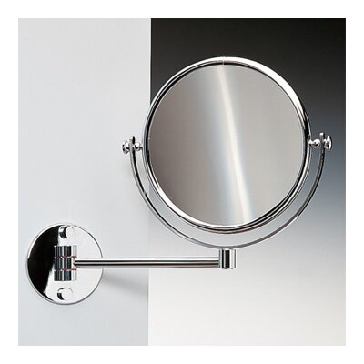Wall Mounted Double Face Magnifying Mirror Windisch 99139CRO-3x