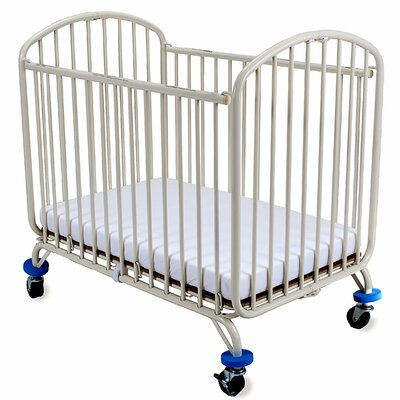 Folding Arched Compact Convertible Crib with Mattress CS-72