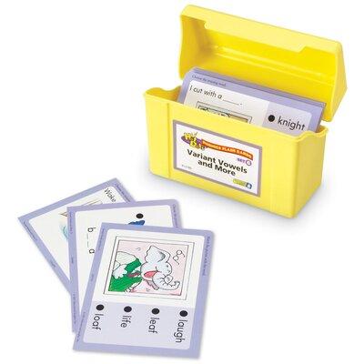 Educational Insights Set 6: Variant Vowels (Hot Dots Phonics Flash Cards) at Sears.com