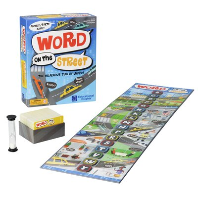 Word on the Street Educational Game 2830