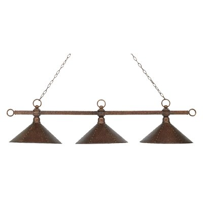 Huguenot 3-Light Billiard Light