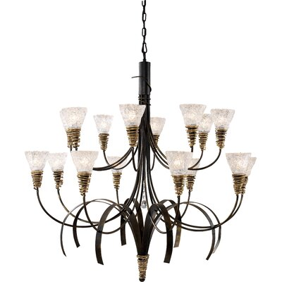 Hymes 16-Light Shaded Chandelier