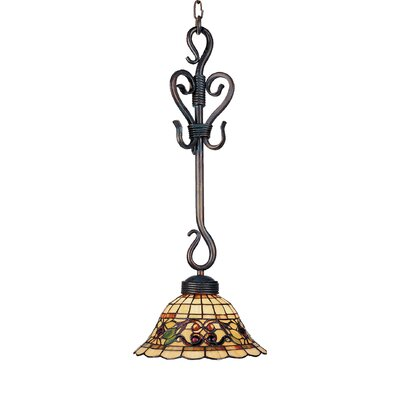 Buckingham 1-Light Mini Pendant Finish: Vintage Antique