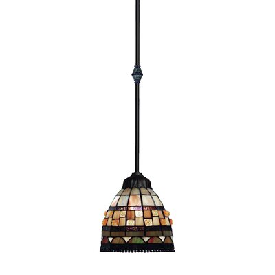 Jewelstone 1-Light Mini Pendant