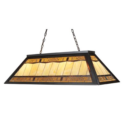 Swarthout 4-Light Billiard Light Finish: Tiffany Bronze Metal