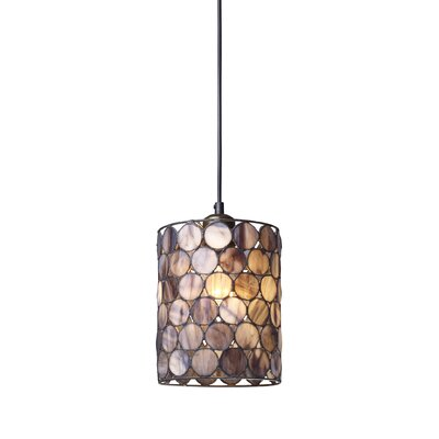 Capiza 1-Light Mini Pendant