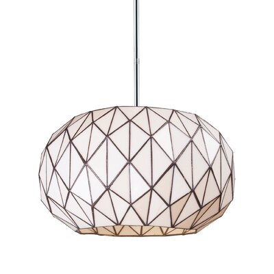 Tetra 3-Light Geometric Pendant