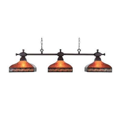 Huguenot 3 Pool Table Light