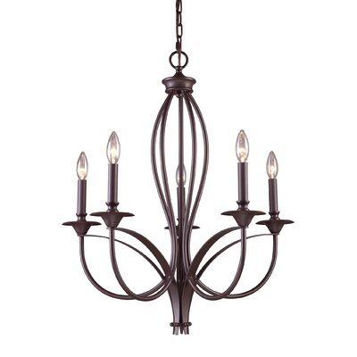 Tarres 5-Light Candle-Style Chandelier