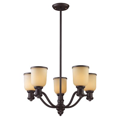 Brooksdale 5-Light Shaded Chandelier