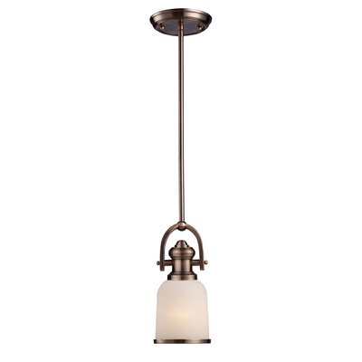 Brooksdale 1-Light Mini Pendant