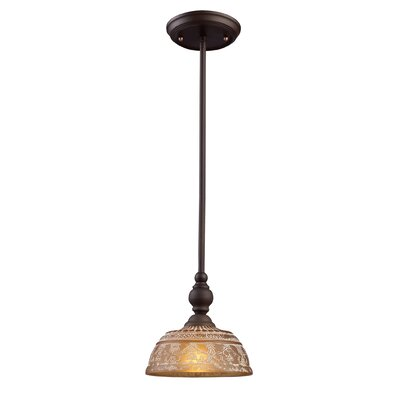Burr 1-Light Mini Pendant