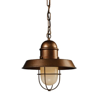 Farmhouse 1-Light Mini Pendant