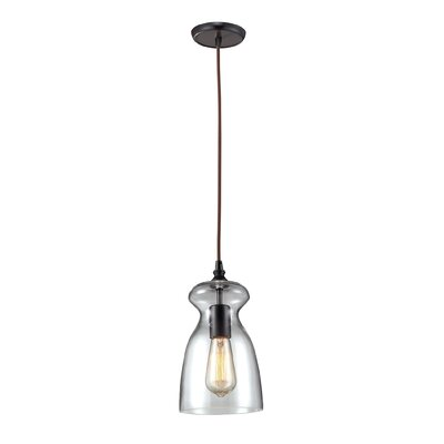 Pettey Bell 1-Light Pendant