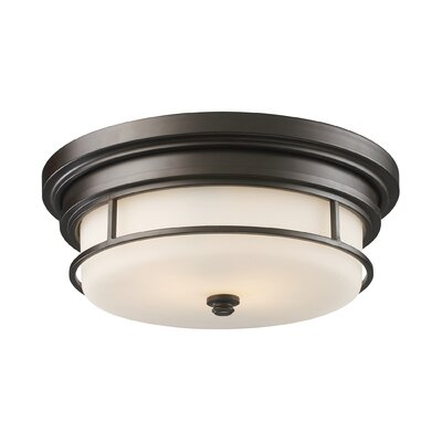 Durham 2-Light Flush Mount
