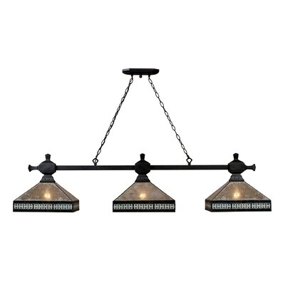 Mica Filagree 3-Light Pendant