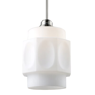 Mixon 1-Light Schoolhouse Pendant