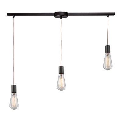 Pettey 3-Light Pendant