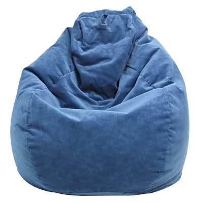 Fairview Bean Bag Lounger Upholstery: Navy Blue