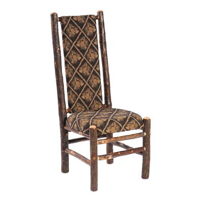 Hickory Side Chair Upholstery: Black