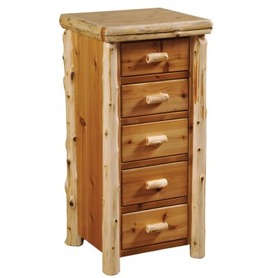 Value Cedar 5 Drawer Lingerie Chest Color: Vintage