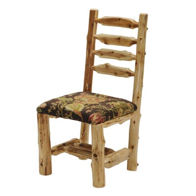 Cedar Side Chair Upholstery: Caribou