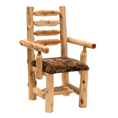 Cedar Arm Chair Upholstery: Caribou