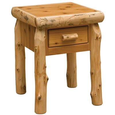 Cedar 1 Drawer Nightstand Color: Traditional
