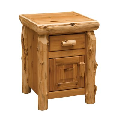 Cedar 1 Drawer Nightstand Color: Vintage