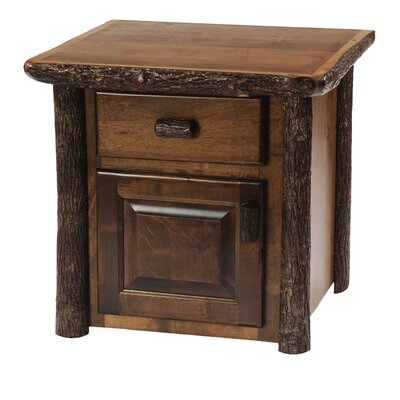 Hickory End Table Color: Rustic Maple