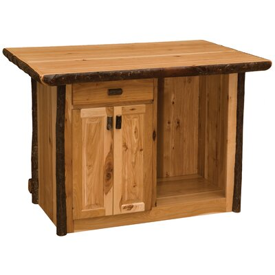 Hickory Home Bar Finish: Rustic Maple