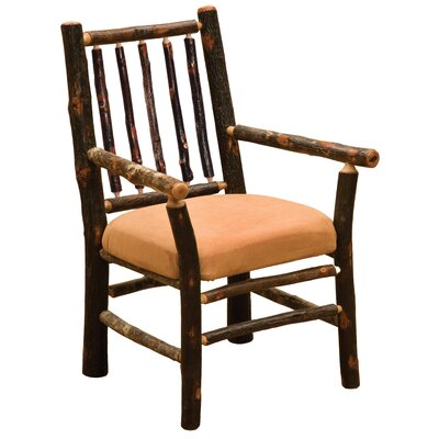 Hickory Arm Chair Upholstery: Stallion