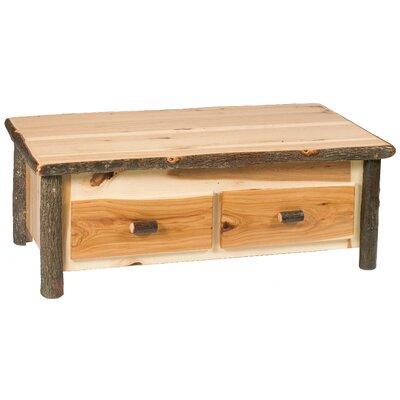 Hickory Coffee Table Color: Rustic Alder