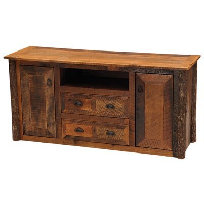 Barnwood Widescreen 59 TV Stand Leg Color: Barnwood