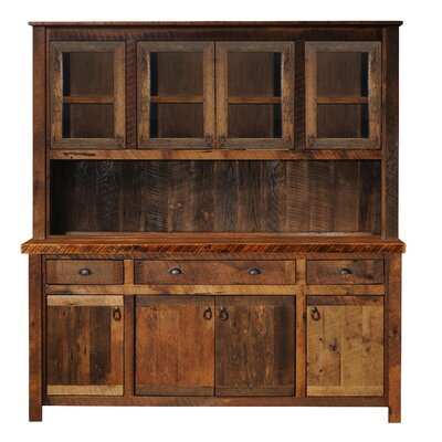 Barnwood China Cabinet Color: Antique Oak