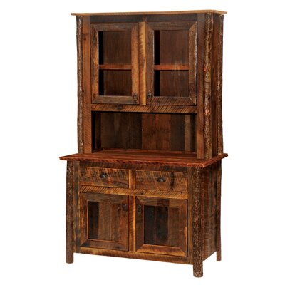 Barnwood China Cabinet Finish: Atisan