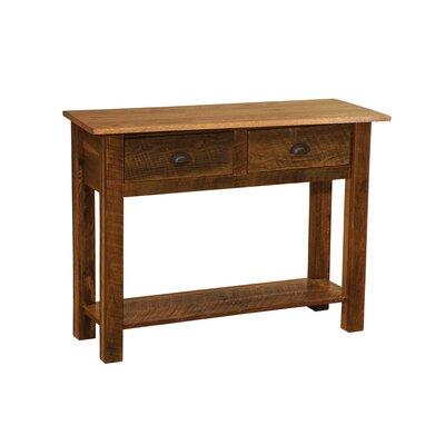 Barnwood Console Table Finish: Barnwood