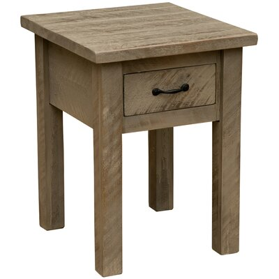 Frontier 1 Drawer Nightstand Color: Driftwood
